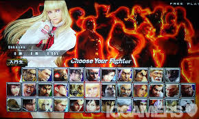 Which Tekken Has Best Character Select Theme And Style Video