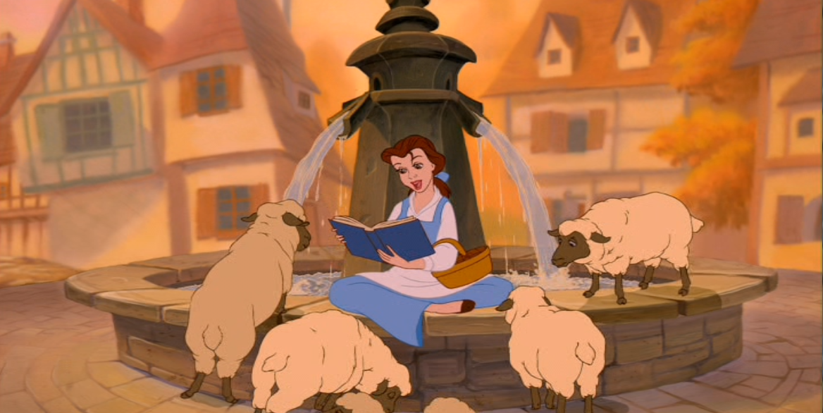 Which is your best scene for belle in beauty and the beast for Belle photo hd