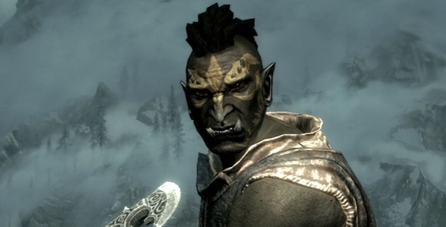 skyrim orc wallpaper - photo #26