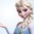 Elsa's big side braid
