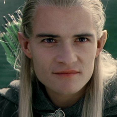 Legolas Lord Of The Rings Smile Choose your favorite s...