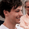 Louis' face while watching Harry acting as Marcel