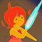 Younger Flame Princess outfit