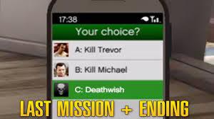 GTA 5 What did you choose?? ( I chose Deathwish) - Grand