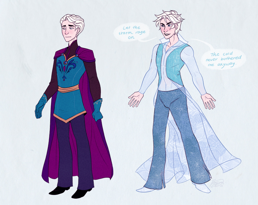 Disney Princess Who would be better as a male character How To Draw Kristoff From Frozen Easy