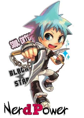 black star soul eater chibi - photo #12