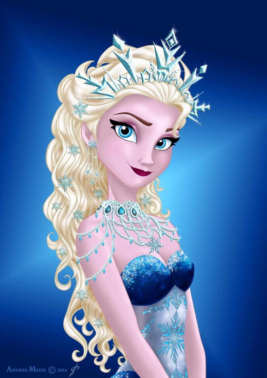 Elsa as a mermaid you like better poll results disney - Princesse frozen ...