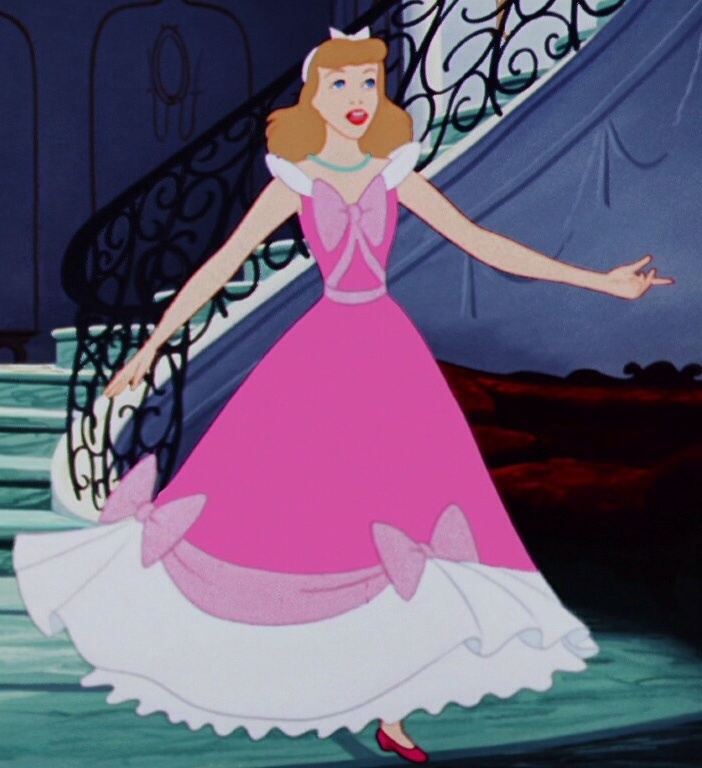 cinderella in pink dress - photo #25