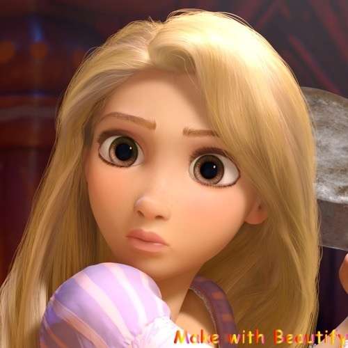 I Changed Rapunzel's Eye Color: Which One Do You Like Best
