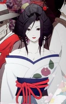 anime xxxHOLIC VS Jigoku Shoujo; Ame-warashi hoặc Hone Onna?
