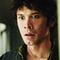 Bellamy's face when he thinks Clarke has a deadly disease.