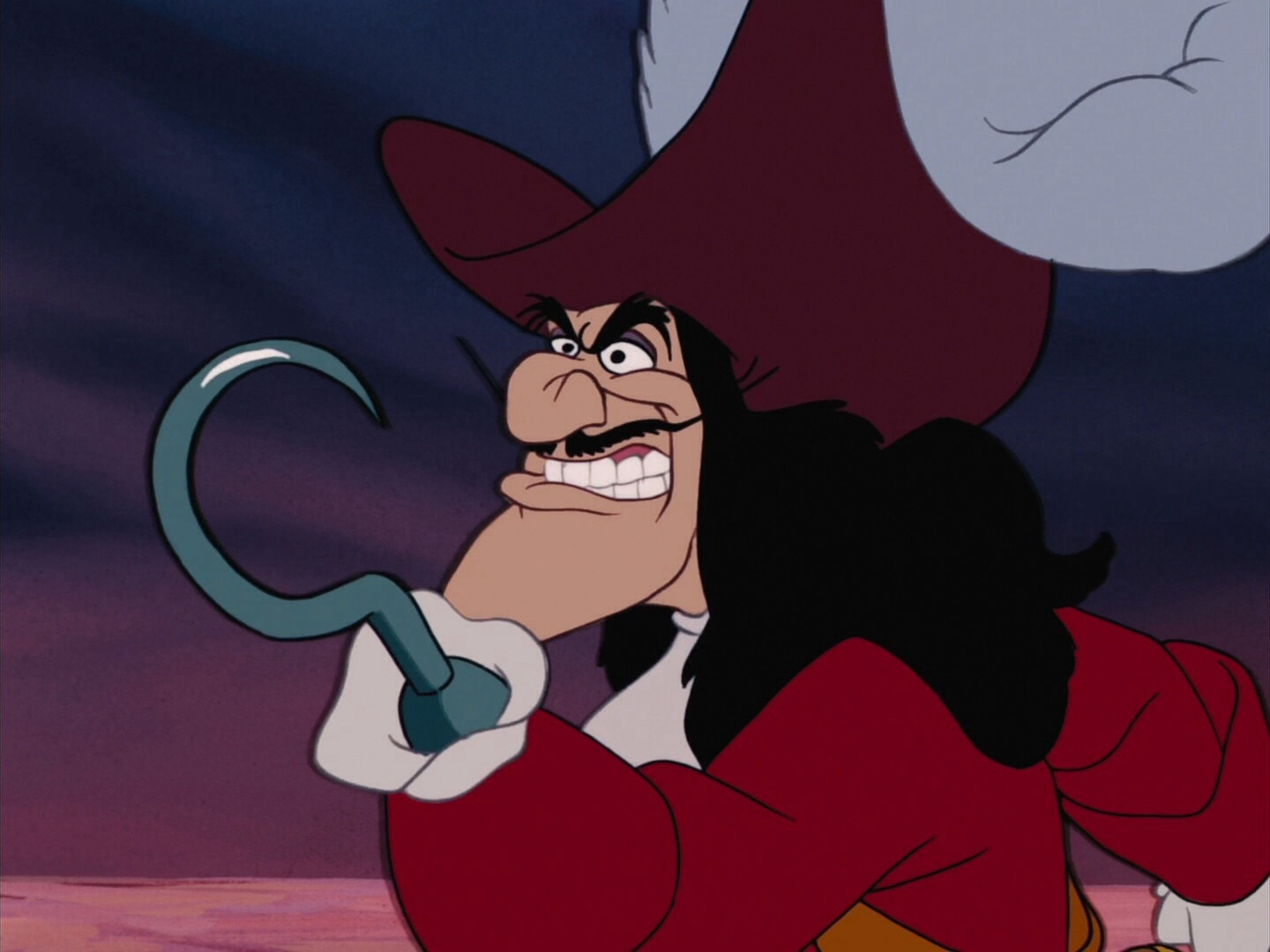 disney vs non disney villains captain hook peter pan