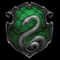 The snake represents Slytherin perfectly.