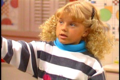 how old do yu think stephanie looks in season 2 stephanie tanner
