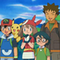 Ash, Brock, May and Max (Hoenn and Battle Frontier)