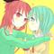 1 ~ KyouSaya / Kyouko & Sayaka | Puella Magi Madoka Magica
