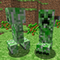 Creepers from Minecraft