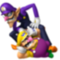 Wario and Waluigi from the Super Mario Bros. Series