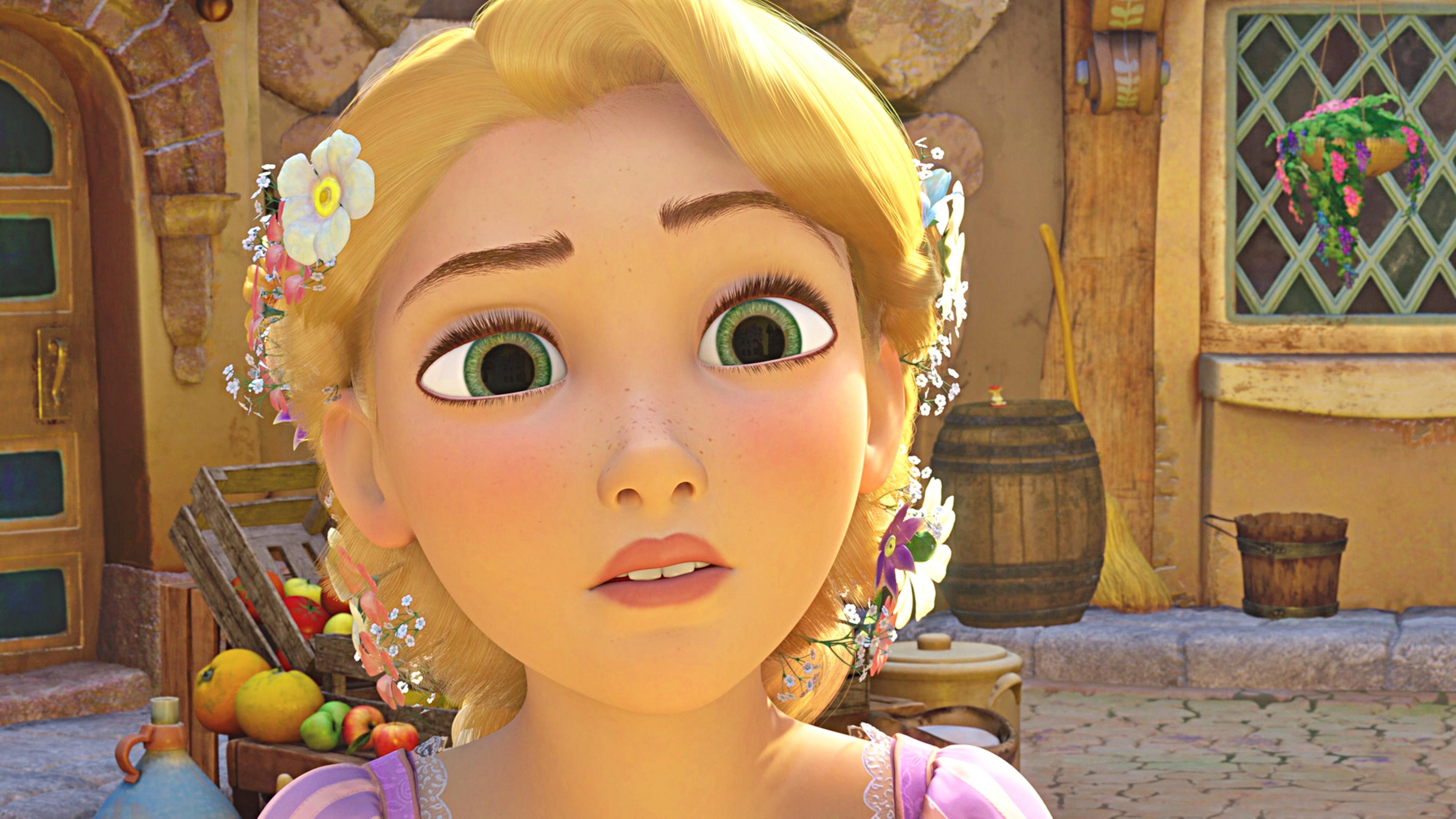 What S Your Most Preferito Feature On Rapunzel Face Head Principesse Disney Fanpop