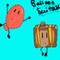Balloon and Suitcase