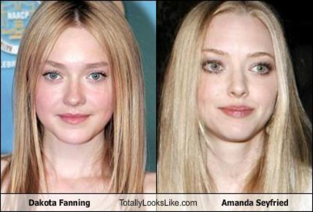 Download Amanda Seyfried Y Dakota Fanning Background