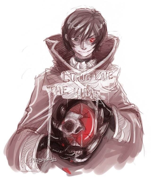 Of the Headcanons I have for Code Geass' Lelouch vi Britannia, which