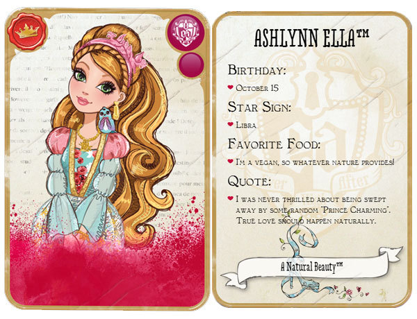 at my 9 prettiest main character who s yours ever after high
