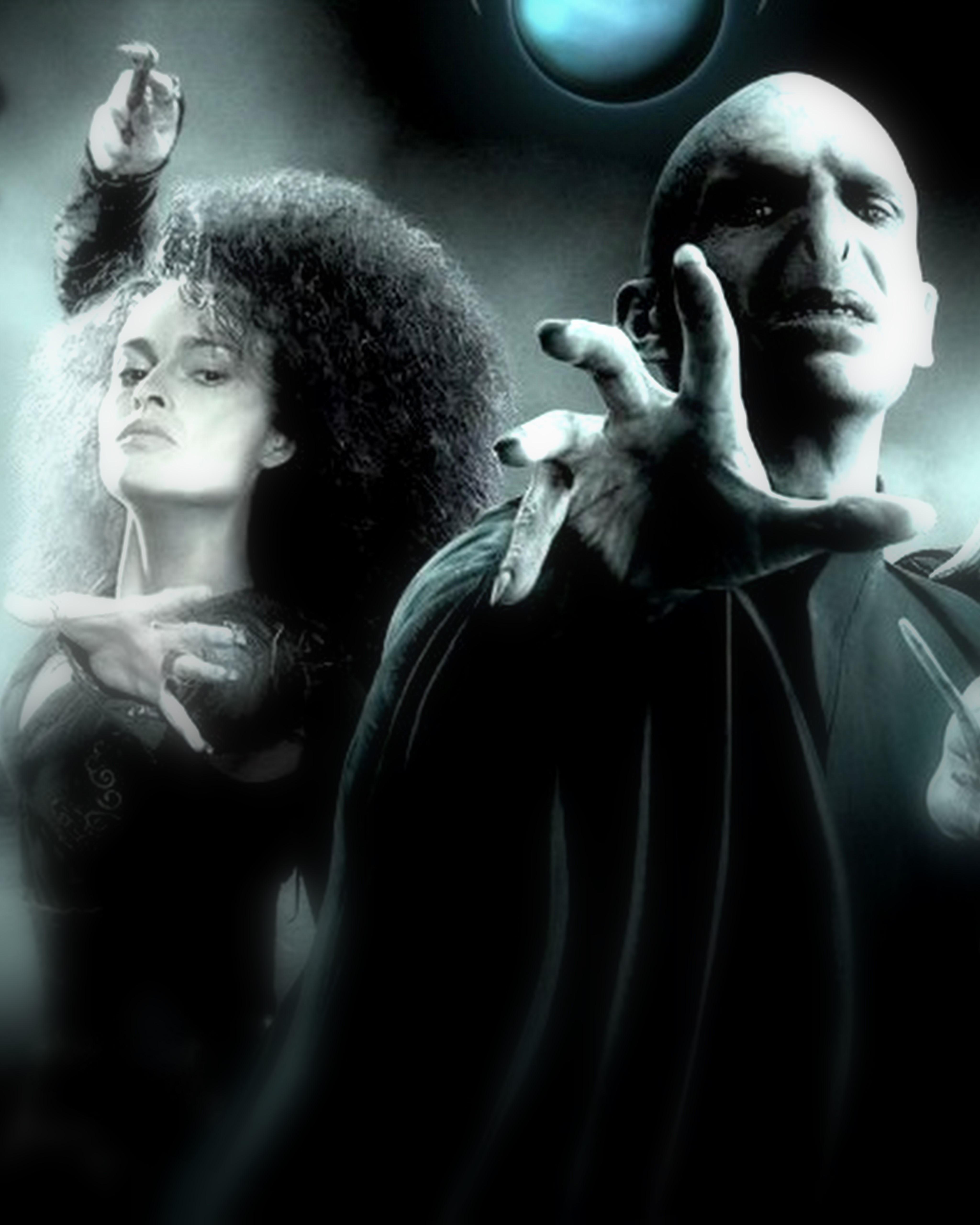 Dumbledore and McGonagall vs  Voldemort and Bellatrix  Who wins the