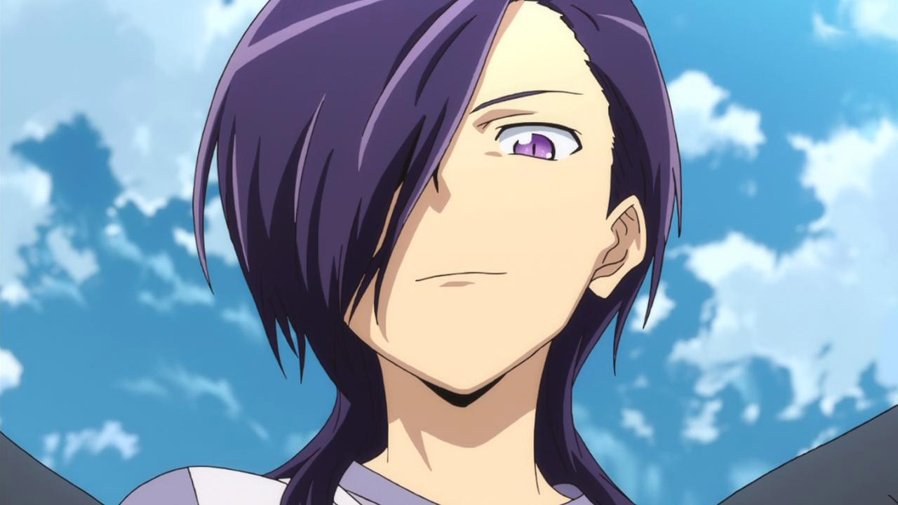 Anime Characters With Purple Hair