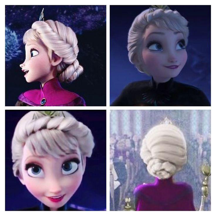 Which Elsa Hair Style Do You Prefer Disney Princess Fanpop