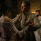 Charming teaching Regina how to dance under Snow's loving gaze