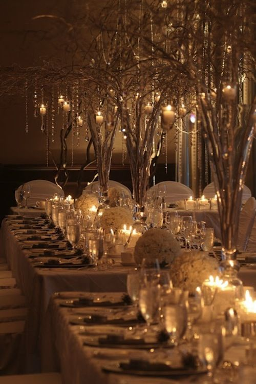 What Would You Say Of A Winter Wonderland Themed Wedding