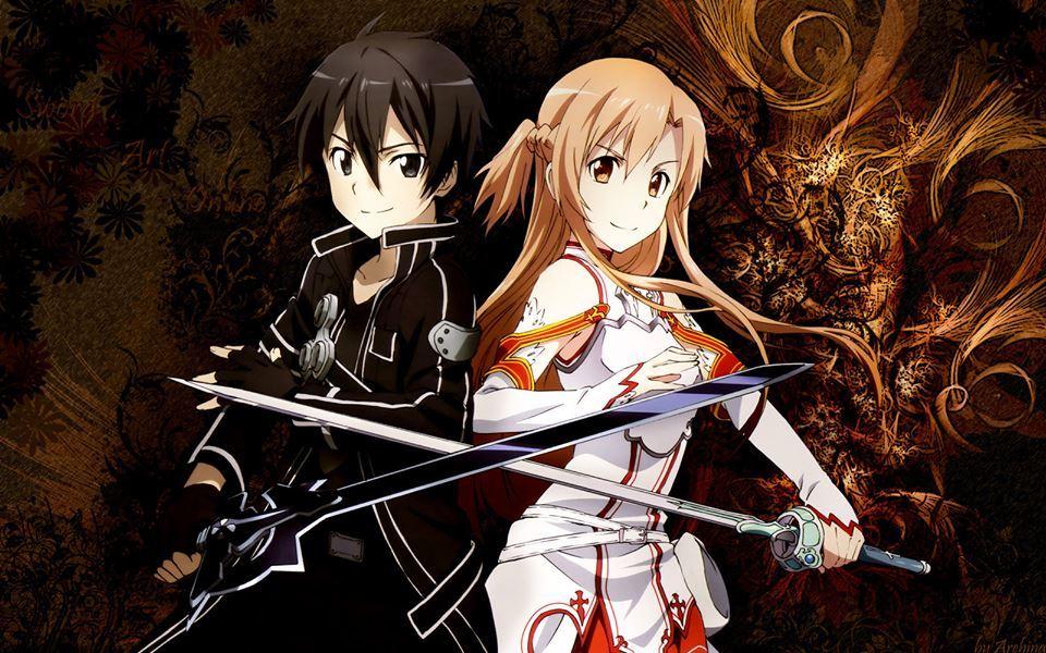 Sword Art Online Kirito X Sinon Or Asuna