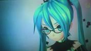 Hatsune Miku Vocaloid.