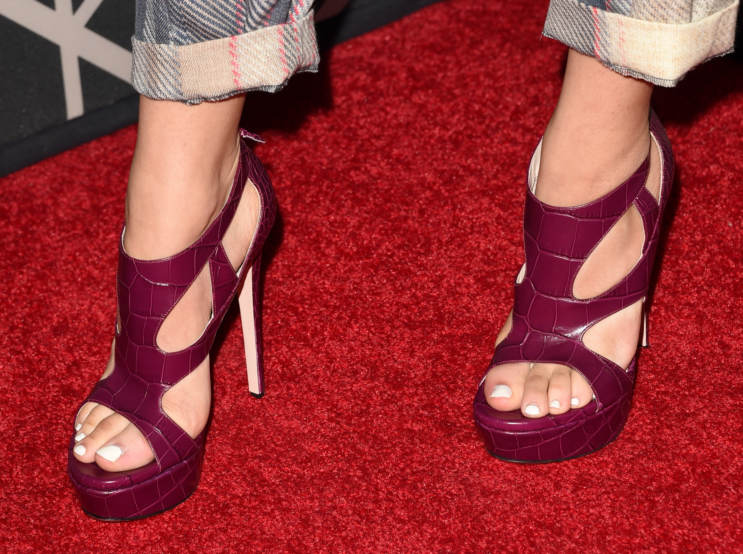 FASHION: Wine SHOES. Pick your Fav! - Actresses