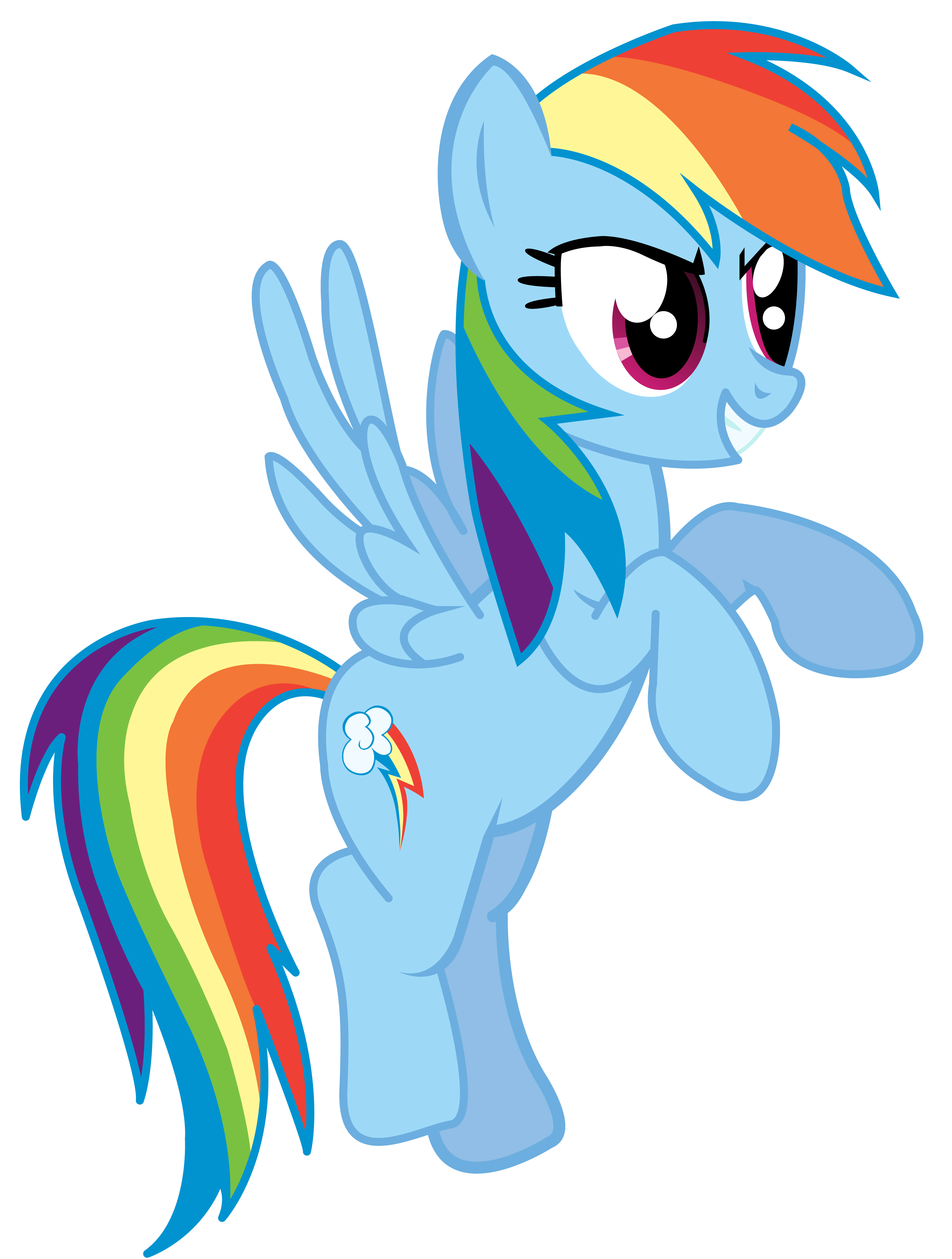 which version of the mane six do you like better