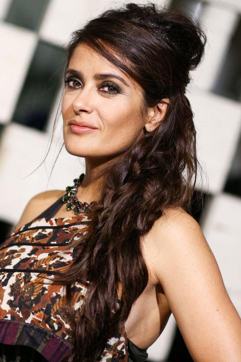 salma hayek hairstyles : FASHION: Salma Hayek Hairstyles. Pick Your Fav! - Actresses - Fanpop