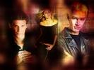 Buffy, malaikat and Spike