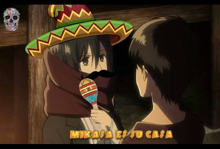 What is the most goodest theory about attack on titan - Mikasa es su casa ...