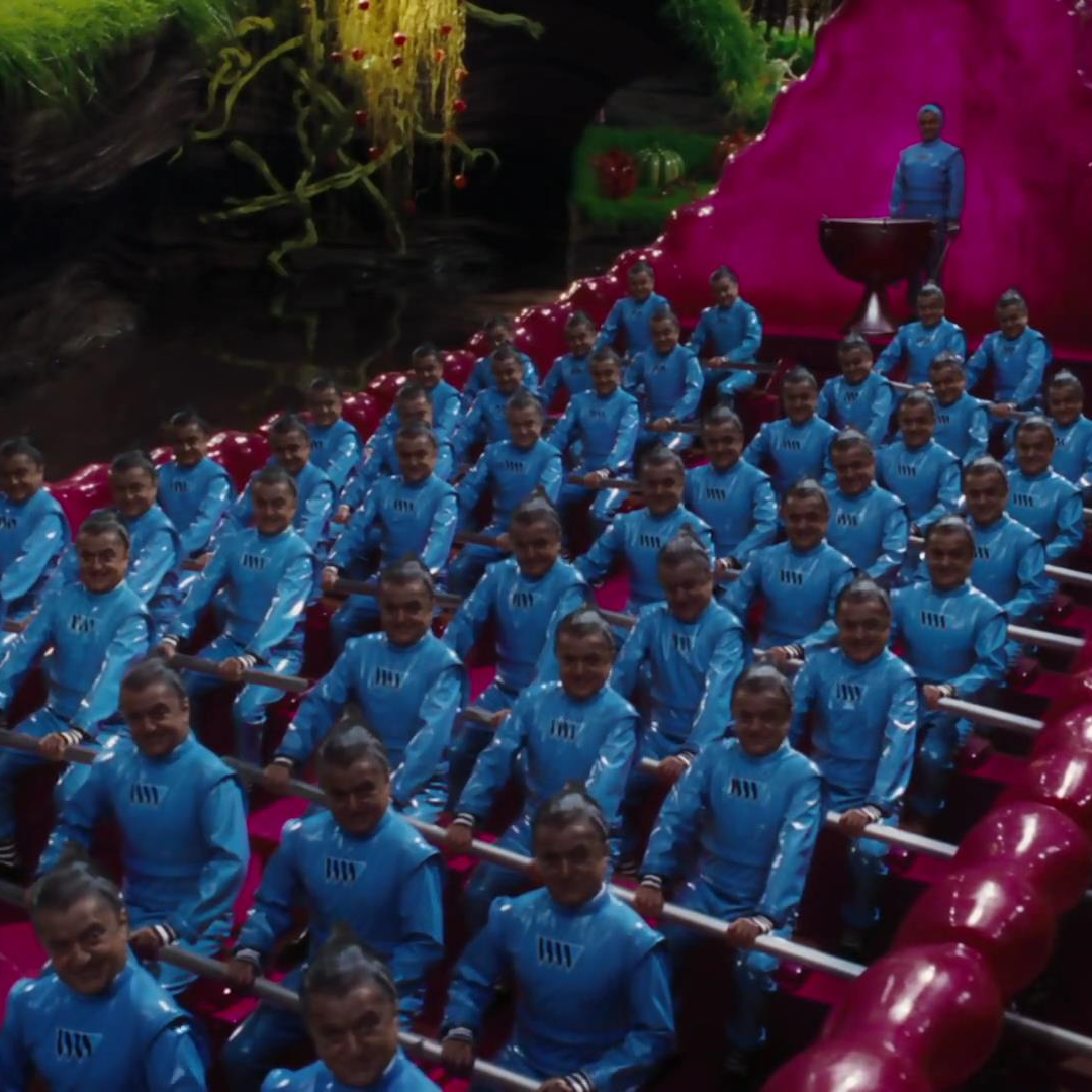 Your Favourite Oompa Loompa Factory Jump Suit? - Charlie and the ...
