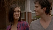 Damon And Elena are married and live a happy life