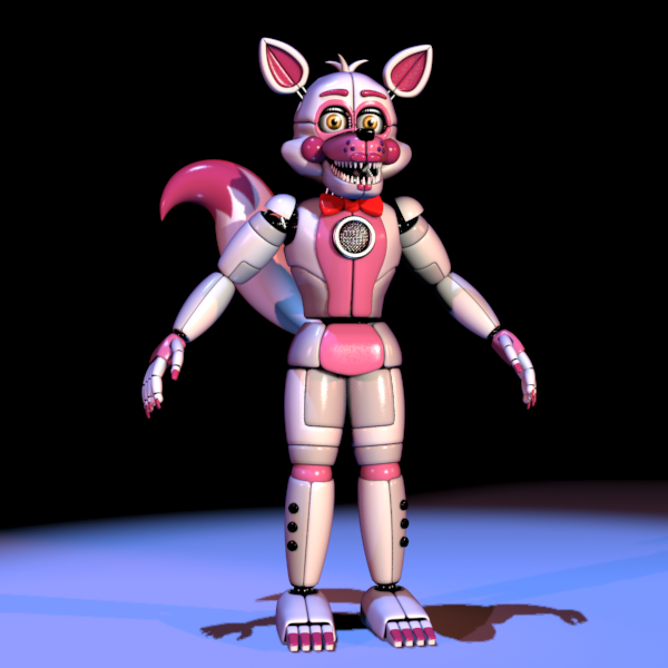 mangle toy foxy or funtime foxy mangle fanpop