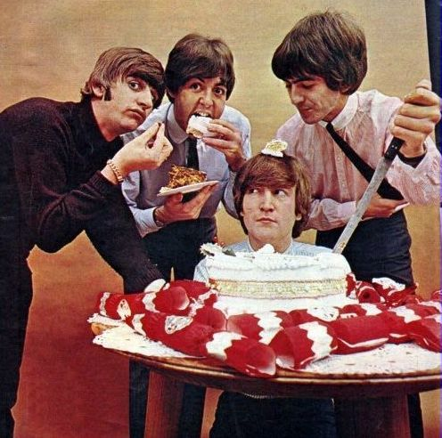 Beatle Happy Birthday Cake