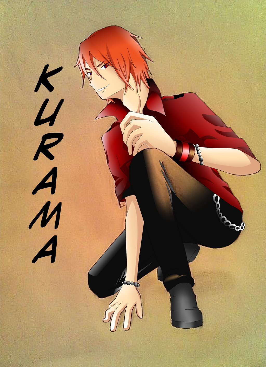 Kurama's human form. What if Kurama had human form. What from ...