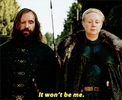 The Hound and Brienne make up