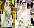 Anne Hathaway's wedding dress in Princess Diaries 2: Royal Engagement