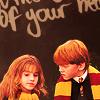 Elle; Ron & Hermione {Harry Potter}