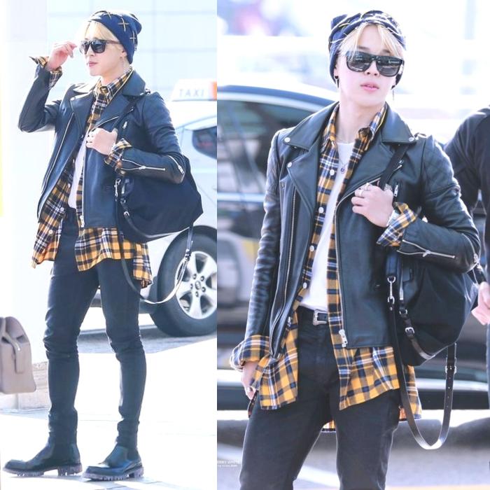 Bts Airport Fashion