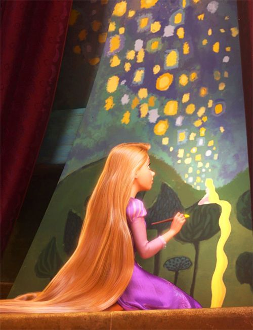 What do you like most about Rapunzel? - Disney Princess