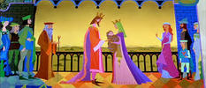 In a faraway land, long ago, there lived a King and his fair Queen. Many years...